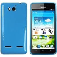 mumbi TPU Schutzhülle für Huawei Ascend G615 G600 Hülle blau