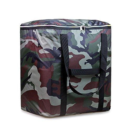 RENQINGLIN Eine Falttasche Mit Einer Klappbaren Tasche Und Einer Baumwolle Steppdecke Beutel, C