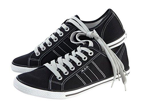 Livergy Herren Canvas-Sneaker Schuhe Sneaker (45) (Großhandel Canvas Schuhe)