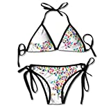 Bambine e ragazze Costumi da bagno Jxrodekz Lovely Tankinis Charming Triangle Women Sets 7