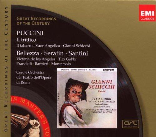 Puccini: Il Trittico (Il Tabarro; Suor Angelica; Gianni Schicchi)