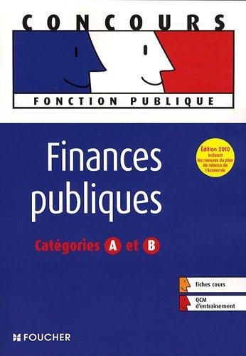 Finances publiques : Catégories A et B