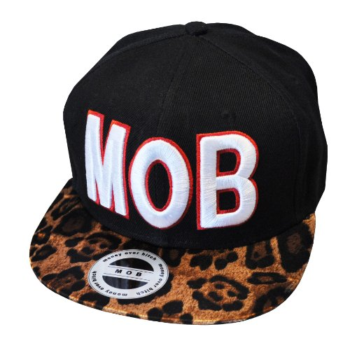 MOB/Money Over Bitches -argent sur les chiennes- Casquette Réglable (Adjustable Cap)