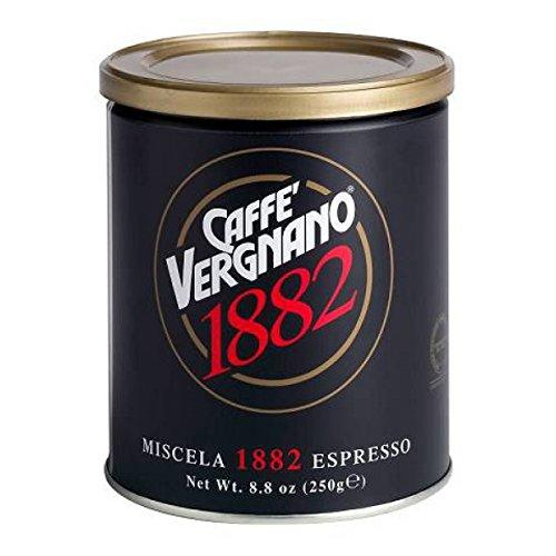 Vergnano 1882 Espresso Mischung gemahlen, 250 g Dose