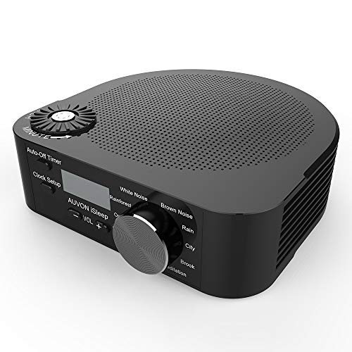 Wwsb Kreatives Schlafinstrument, Sound-Therapie-Maschine 10 Sound, Geeignet Für Baby, Schlaf, Büro - Unterstützung USB-Batterie