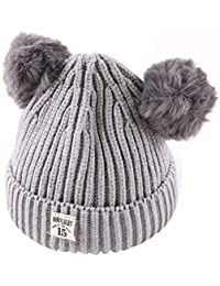 aba1e622478 Xshuai Baby Hat for 2-8 Years Old Kids Fashion Newborn Infant Toddler Cute  Winter
