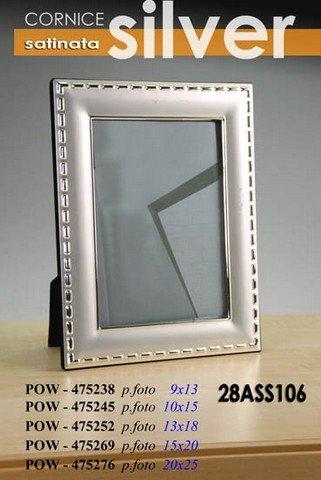 P/PHOTO 13 X 18 SILVER 475252