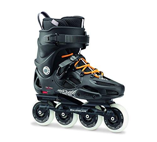 Rollerblade -Patines en línea Twister 80 para hombre, hombre, TWISTER 80, negro / naranja