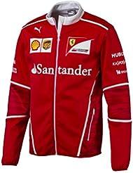 Nuevo. 2017 oficial de Puma Ferrari F1 Fórmula un equipo para hombre softshell chaqueta de forro polar, rojo