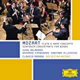 Mozart - Sinfonia Concertante For Winds; Flute & Harp Concerto