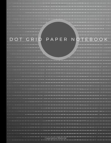 Dot Grid Paper Notebook: Dot Grid Paper Graph Dotted Journal Notebook Large 8.5 x 11 inches - 104 pages (Volumn 37)