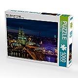 Köln - Blick vom Triangle 1000 Teile Puzzle Quer