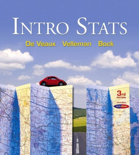 Intro Stats Value Pack (includes Statistics Study for the DeVeaux/Velleman/Bock Series & MyMathLab/MyStatLab Student Access Kit ) (3rd Edition) by Richard D. De Veaux (2008-05-25)