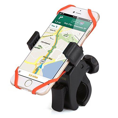 iKross Handyhalterung Fahrrad Smartphone Handyhalter Fahrrad Verstellbar für iPhone 6S/6S Plus 6/6Plus 5S/4S Samsung Galaxy S5/S4/S3