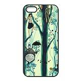 Hot Anime Mein Nachbar Totoro Prinzessin Mononoke Custom Design Apple iPhone 55S Hard Case Cover Hüllen