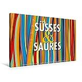 CALVENDO Lifestyle: Premium Textil-Leinwand 75 cm x 50 cm quer, Ein Motiv aus dem Kalender Emotionale Momente: Süßes und Saures.   Wandbild, Bild auf ... Fertigbild auf echter Leinwand, Leinwanddruck