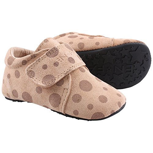 EN FANT Mädchen Jupiter Velcro Slipper Pantoffeln Pink (blush 55)