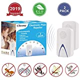Best Electronic Pest Repellers - Ultrasonic Pest Repeller Plug in Electronic Mouse Repeller,Indoor Review