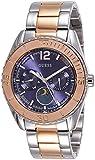 Guess Damen-Armbanduhr Analog Quarz Edelstahl W0565L3