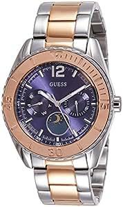 Guess - W0565L3 - Montre Femme - Quartz - Analogique - Bracelet Acier inoxydable Argent