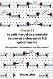 Niveau B1 Le petit manuel de grammaire destiné au professeur de FLE qui commence: Niveau B1...