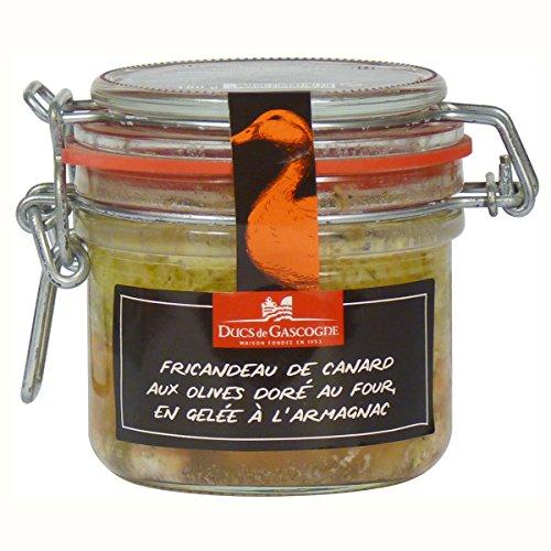 Ducs de Gascogne - Fricandeau de Canard aux olives doré au four, en gelée à l'Armagnac 180g