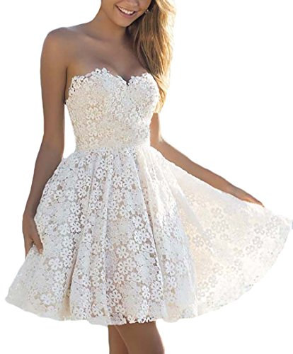 Damen Abendmode Prom Dress Brautkleider Elegant Bandeau Embroided Prinzessin Festlich Vintage Party...