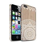 Clipser Brillant Coque de Stuff4 / Coque pour Apple iPhone 4/4S / Mandala Bambou...