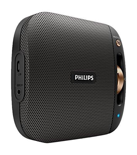 Philips BT2650B/00 Altavoz portátil 4 W Mono Portable Speaker Negro, Bronce -...