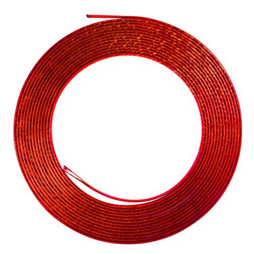 Paracolpi Per Portiera Auto E Camion Trim Molding Strip Protector 15 M,  Rosso