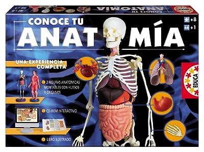 Educa Borrás 14680 - Conoce Tu Anatomía por Educa -Borrás