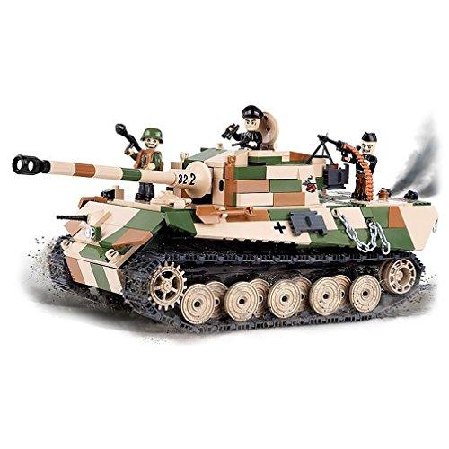 Männer Spielzeug Königstiger Panzer Tiger II Bausteine Bausatz Briks Steine Panzerkampfwagen VI #23546