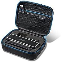 Supremery Bose SoundLink Mini II/Mini Bluetooth Speaker Case EVA Case Sac de Voyage avec Poche Filet, Fermeture éclair et Poignée