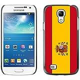 STPlus España Bandera española Carcasa Funda Rigida Para Samsung Galaxy S4 Mini