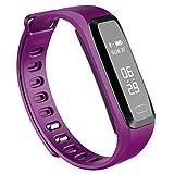 LYJSmart Fitness-Tracker IP67 Wasserdichte Pulsuhr Schlafüberwachung Smart Call Erinnerung Benachrichtigung Push Männer und Frauen Android iPhone Watch