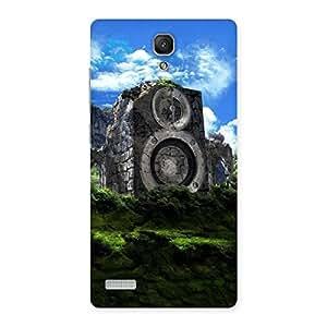 Mountain Range Speaker Back Case Cover for Redmi Note 4