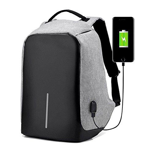 Preisvergleich Produktbild Business Laptop Rucksack 15.6 zoll Taschen mit USB Anschluss Notebook Computer herren rucksack Hohes Fassungsvermögen Anti-Diebstahl Sicherung Geschäfts- Urlaubsreisen weihnachtsgeschenk