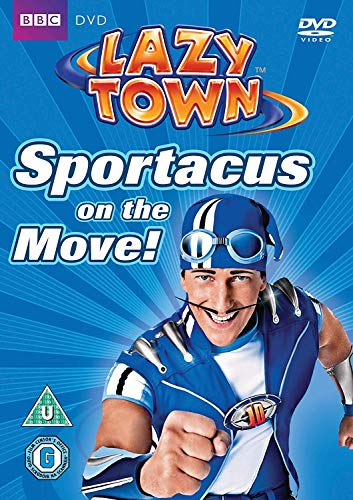 LazyTown - Sportacus On The Move