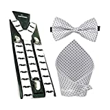 Sorella'z White Mushtache Suspender with...