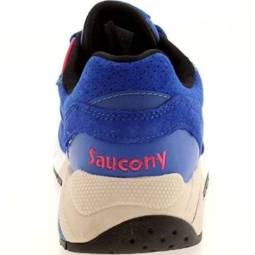 Saucony G9Control, Chaussures Basses Pour Homme Sneakers Bleu
