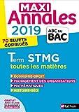 Maxi Annales ABC du Bac 2019 - Terminale STMG (29)...