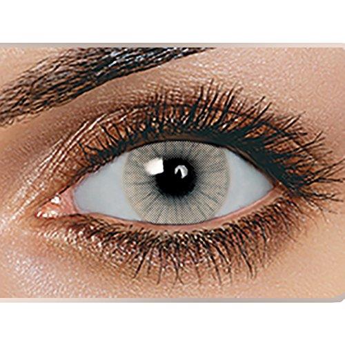 Swiftt Farbige Kontaktlinsen 1 Paar(2 Stück) Ohne Stärke - Verschiedene Farben - Jahreslinsen - Durchmesser: 14.50mm - Krümmungsradius: 8.60° - Wassergehalt: 38% - Angenehm zu Tragen (Ochre)