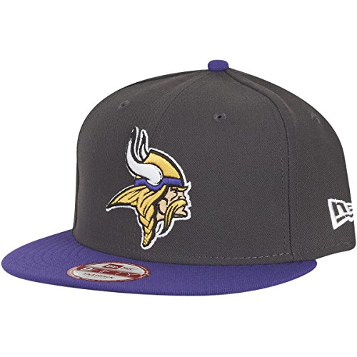 new-era-nfl-minnesota-vikings-graphite-snapback-cap-s-m-9fifty-limited-edition