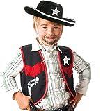 Cowboy Weste Kinder Kostüm Gr 116