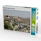 Tempelplatz mit Blick vom Zionsberg 2000 Teile Puzzle quer (CALVENDO Orte)