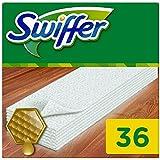 Ancienne version - Swiffer - Recharges de Lingettes Attrape-Poussières pour Surface en Bois - Pack de 36 Lingettes