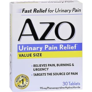 AZO Standard UTI Treatment - 30 Count