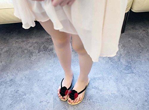 Pantofole femminili Anti-skid Chic personalità Summer Pantofole Beach Coppie Outdoor Flip Flop Red