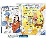 tiptoi Ravensburger Wörter-Bilderbuch: Unser Zuhause Spiralbindung Stift mit Aufnahmefunktion