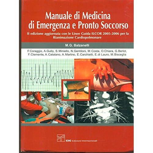 Manuale Di Medicina Di Emergenza E Pronto Soccorso